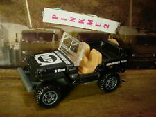NEW 2016 MILITARY Matchbox 1943 JEEP WILLYS☆black/beige; MILITARY POLICE☆LOOSE
