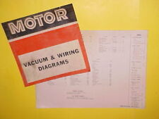 1967 1968 1969 1970 1971 AMC SC/RAMBLER JAVELIN SST AMX MARLIN WIRING DIAGRAMS