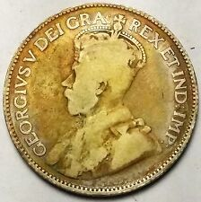 CANADA 1921 25 CENTS   SCU7196.....WORLDWIDE COIN