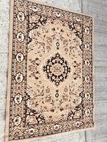 Large brown patterned rug lot E300319L