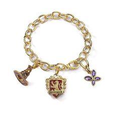 Officially Licensed Harry Potter Lumos Gryffindor Crest Charm Bracelet