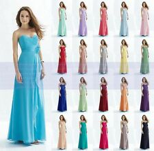 New Bridesmaid Dresses Formal Long Evening Ball Gown Party Prom Dresses Size6-18