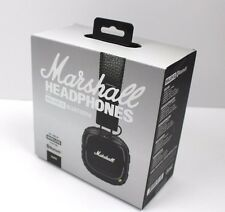 Black New Marshall MAJOR 2 II On Ear Headphones HiFi Headset Wired Bluetooth