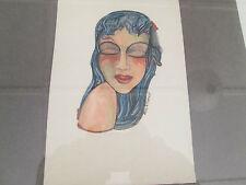 William Neil Furzey Original Water Color c1965