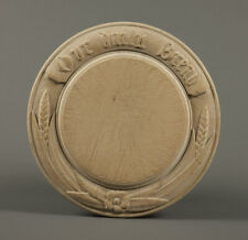 Collectable carved Victorian breadboard with Our Daily Bread 2 wheat & a rosette