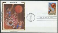 UNITED STATES COLORANO  1991  BASKETBALL   FIRST DAY  COVER