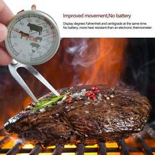Hot Stainless Steel Instant Read Probe Thermometer BBQ Food milk coffe