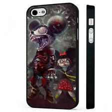 Mickey Mouse Horror Zombie Disney BLACK PHONE CASE COVER fits iPHONE
