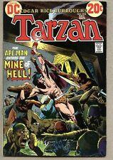 Tarzan #215-1972 fn 9th DC issue / Joe Kubert Hal Foster