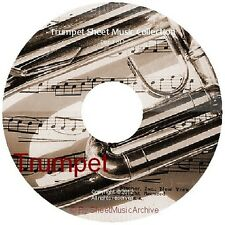 Massive Professional Trumpet Sheet Music Collection Archive Library on DVD