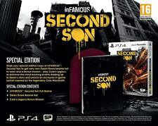Infamous Second Son PS4 Special Edition Delsin Rowe Beanie Playstation 4 Sealed