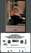 The Last One to Know by Reba McEntire (Cassette,1987, MCA)