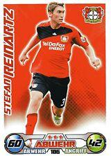 186 Stefan Reinartz - Bayer Leverkusen - TOPPS Match Attax 2009/2010