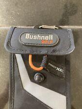 Orig Bushnell Golf Rangefinder Case Pouch ProXE BLACK  GOOD CONDITION