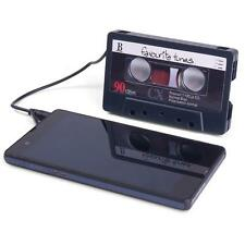 Portable Cassette Speaker for any Device with a Standard 3.5 mm Headphone Socket