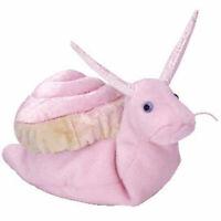 TY Beanie Baby - SWIRLY the Snail (6 inch) - MWMTs Stuffed Animal Toy