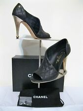 CHANEL, OTHER OPEN SHOES, NEW, Size 37,5 BLACK