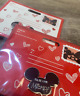 Disney Mickey Mouse Minnie Mouse Valentine Limited Edition NWT! PINS Ear Hat Set