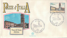 FDC ITALIA PRIMO GIORNO DI EMISSIONE 1988 PIAZZE D'ITALIA PISTOIA 7-62