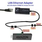 LAN Ethernet connector & USB adapter for Amazon Fire Stick -TVxStream Brand NEW