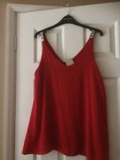 next red top size  14 Cami  New