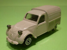 NOREV 1:43 PLASTIK  -  26 CITROEN 2 CV Cle - GREY   - GOOD CONDITION