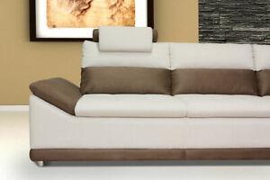 Design Ecksofa Venezia (270 x 218 cm) mit Bettfunktion + Bettkasten