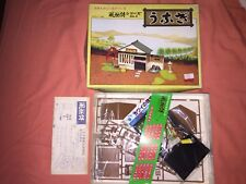 Rare Japanese Country Lakeside Village Hut Scale 1:60 Model Kit