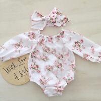 Newborn Kids Romper Infant Girls Bodysuit Baby Outfits Jumpsuit Clothes