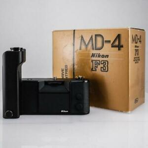 Nikon MD-4 Motordrive for F3 Cameras MINT In Box