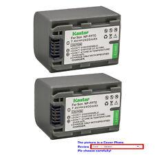 Kastar Battery NP-FP71 for Sony Sony NP-FP70, NP-FP71 DCR-DVD92 DCR-SR80 HDR-HC3