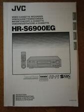 JVC HR-S6900EG bedienungsanleitung