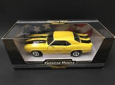 1969 CHEVROLET CAMARO Daytona Yellow ERTL 1/18 EVERGREEN 1 Of 2500 HTF