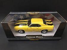1969 CHEVROLET CAMARO Daytona Yellow ERTL 1/18 EVERGREEN 1 Of 2500 HTF