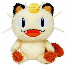 1x Authentic Pokemon Go Plus Fluffy Meowth Plush Sekiguchi Moko Moko Collection