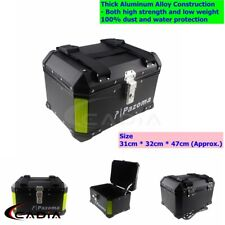 Motorcycle Scooter Top Case Rear Tail Luggage Box For Harley Honda Cruiser BMW