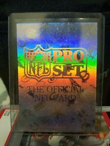 1992 Pro Set Hologram The Official NFL Card 1673/2000