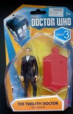 """Dr Who Twelfth 12th Doctor Wave 4: White Shirt  3.75"""" Figure NEW"""