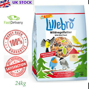 24 kg Lillebro Wild Bird Food Premium wild bird food for all-year feeding.