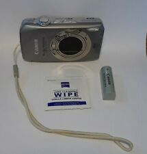 Canon PowerShot SD4500 IS Digital ELPH Camera 10X Optical Zoom Silver W/Battery