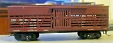 ROUNDHOUSE PRR CATTLE CAR KADEE COUPLERS MISSING BRAKEWHEEL DIECAST FRAME