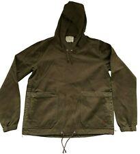 Paul Smith RED EAR Khaki Mens Pop Over Hooded Jacket