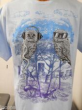 Men's Mads Engine Brand Music Owls Shirt New L