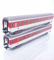 2x MARKLIN 42271 HO 3 RAIL - DB AG Bpmz 291.2, 2nd CLASS PASSENGER COACHES Ep.V