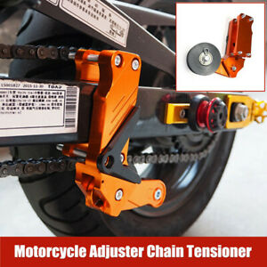 CNC Motorcycle Chain Antiskid Device Adjuster Large Guide Automatic Regulator