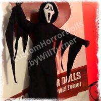 "SALE! Ghostface CUSTOM HORROR DOLL Scream OOAK 12"" Action Figure."