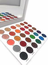 Matte and Shimmer Eyeshadow Palette by Miinachi Cosmetics Pigmented Make Up