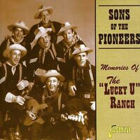 The Sons of the Pion - Memories of the Lucky U Ranch [New CD]