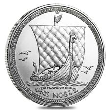 Isle of Man 1 oz Platinum Noble BU/Proof (Random Year)