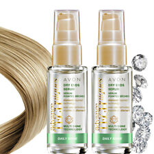 Avon Advance Techniques Daily Shine Dry Ends Hair Serum - 2 x 30ml - Brand New